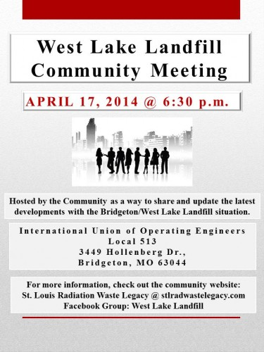 April 17, 2014 Community Meeting.2